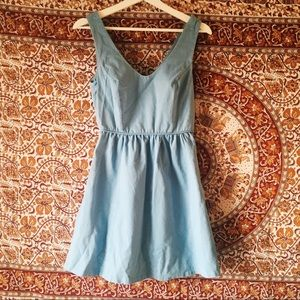 Urban Outfitters baby blue dress